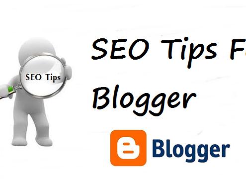 blogger trong việc seo web