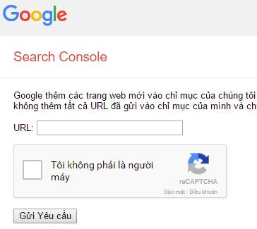 Làm thế nào để Google index Website nhanh chóng?