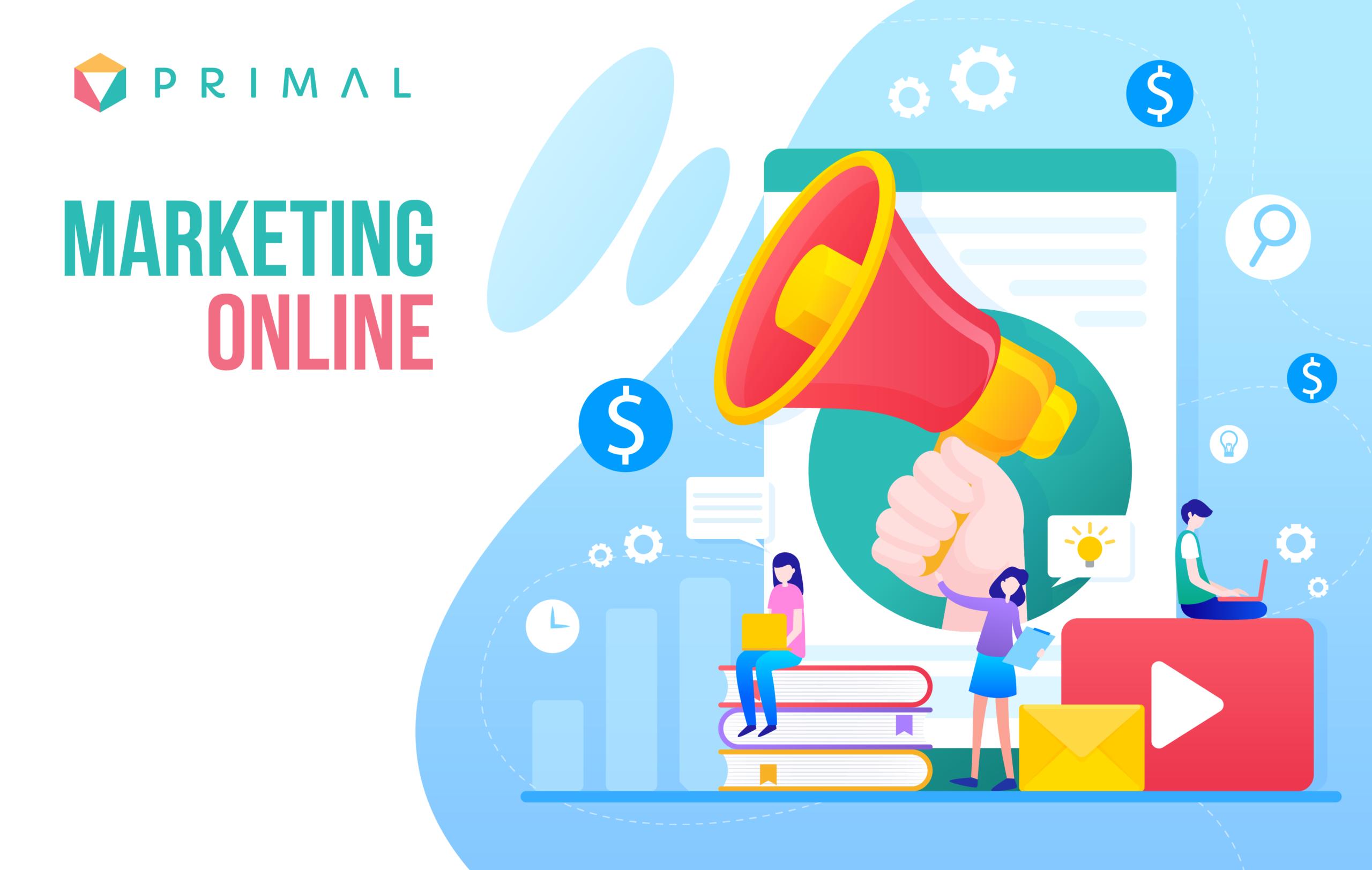 Marketing online là làm gì?